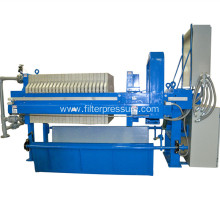 PLC wastewater dewatering hydraulic chamber filter press